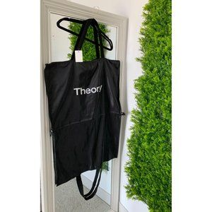 THEORY BLACK TRIFOLD SUIT DRESS GARMENT BAG
